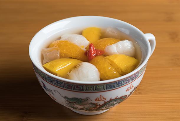 白きくらげとナツメのシロップ煮