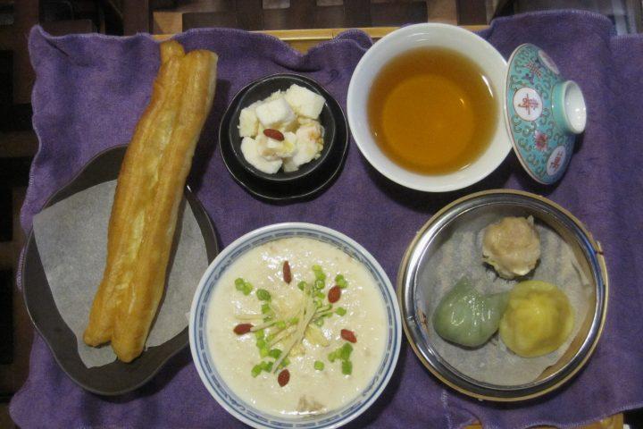 鹹豆漿(シェントウジャン)セット(当店オリジナル仕様)