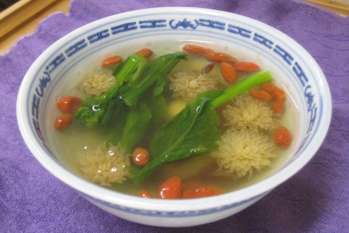 春の薬膳スープ